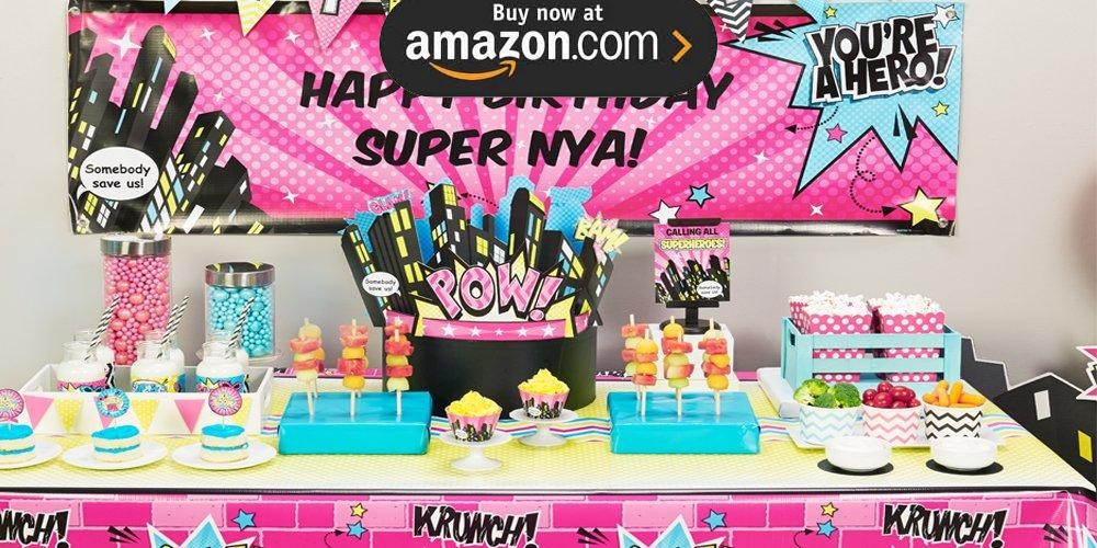 Superhero Girl Party Supplies Kids Party Supplies