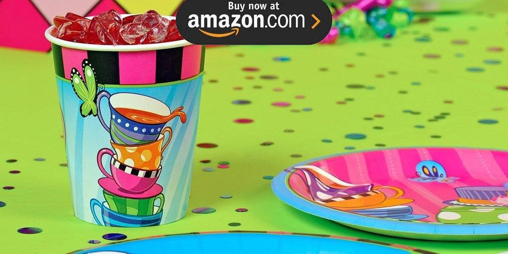 Topsy Turvey Tea Party Supplies