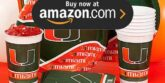 University of Miami Party Supplies