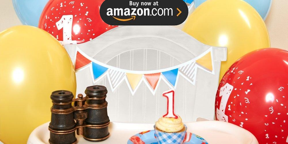 Up Up and Away 1st Birthday Party Supplies