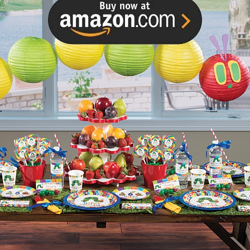 Very Hungry Caterpillar Party Supplies - Kids Party Supplies