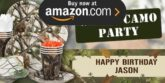 White Camo Party Supplies