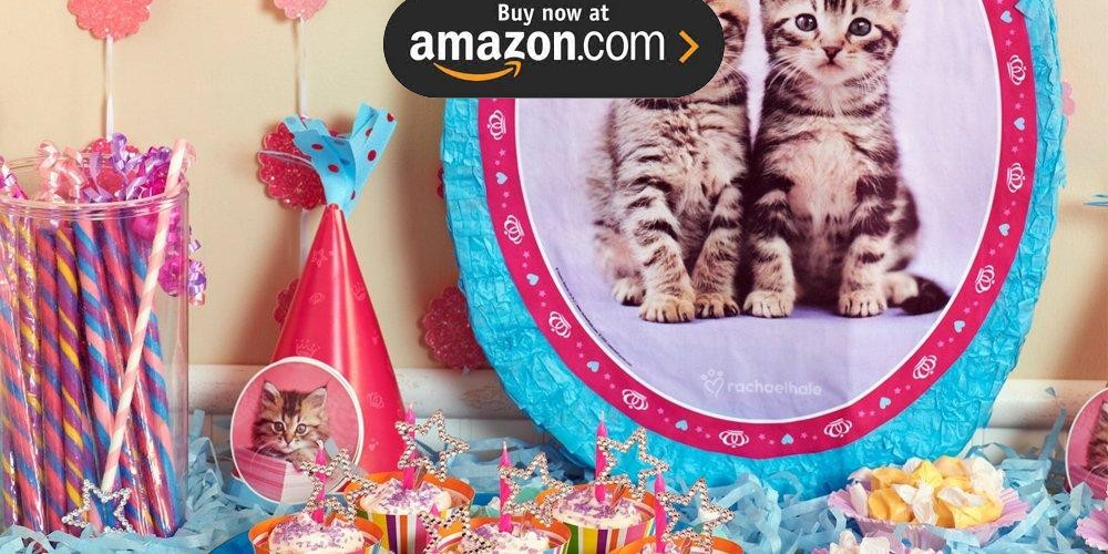 rachaelhale Glamour Cats Party Supplies