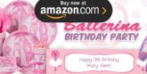 Ballerina Party Supplies