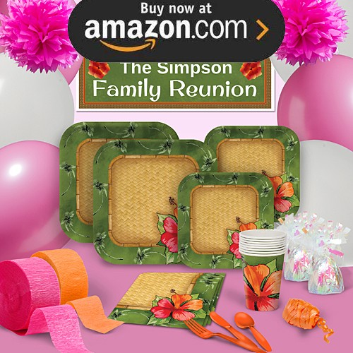 Bamboo Weave Party Supplies