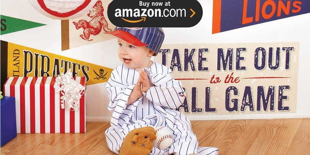 Baseball Time 1st Birthday Party Supplies