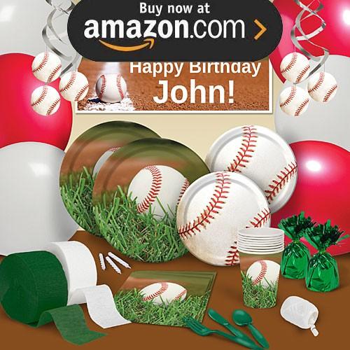 Baseball Birthday Party Supplies