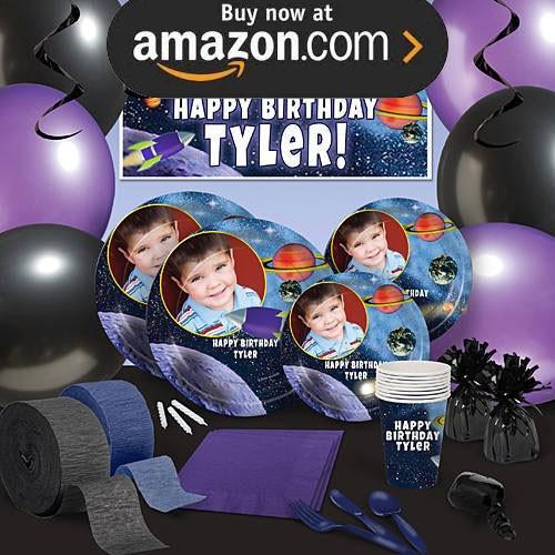 Birthday Blast Off Party Supplies