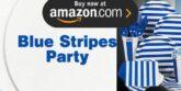 Blue Stripes Party Supplies