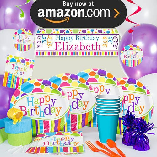 Bright and Bold Party Supplies