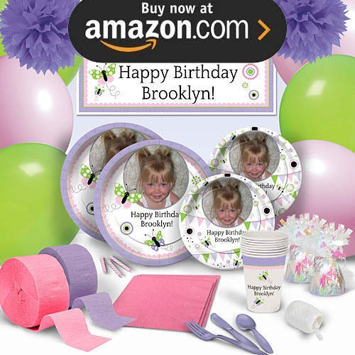 Butterfly Wishes Party Supplies