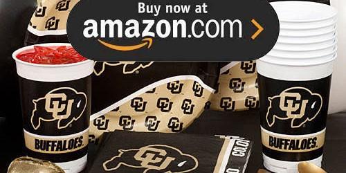 Colorado University Party Supplies