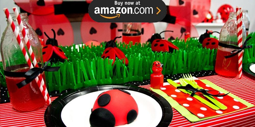 DIY Ladybug Party Supplies