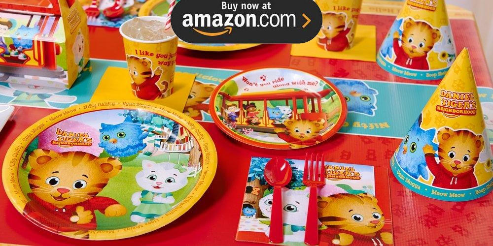 Daniel Tigers Neighborhood Party Supplies Kids Party