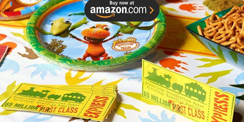 Dinosaur Train Party Supplies
