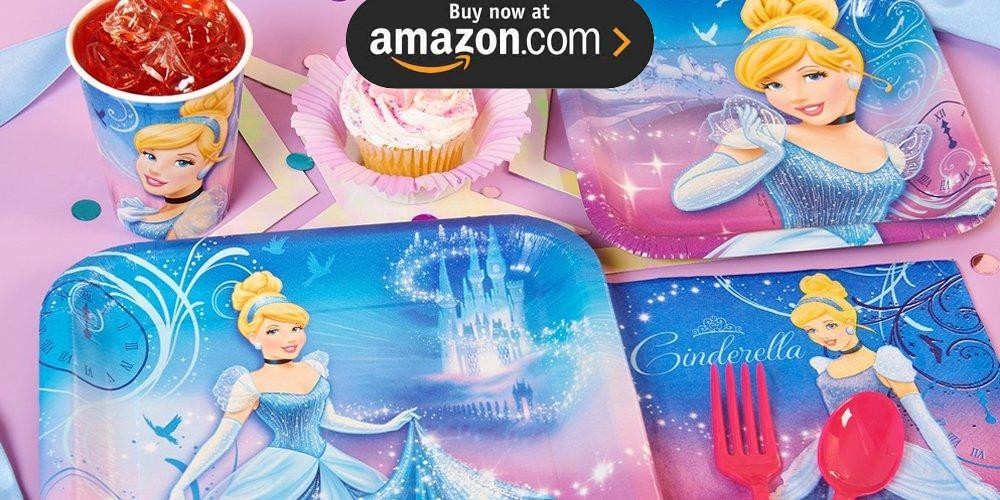 Disney Cinderella Sparkle Party Supplies