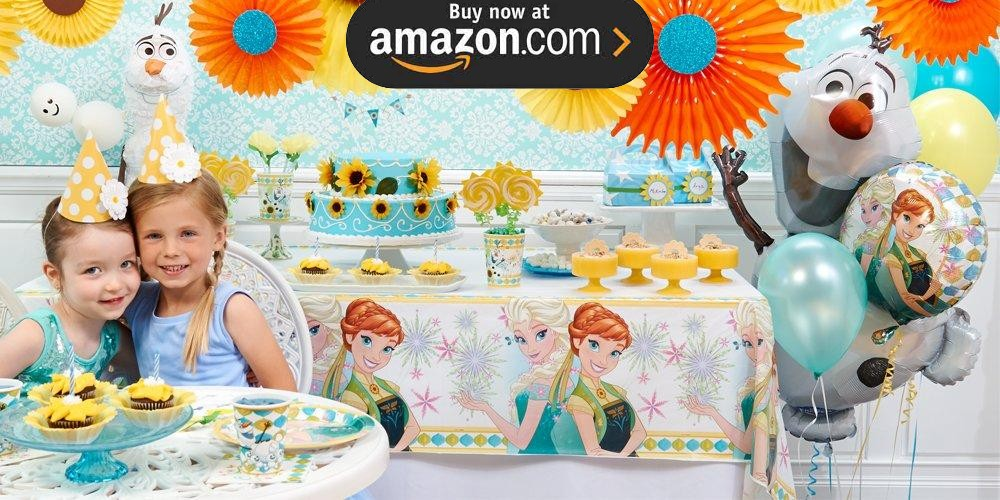 Disney Frozen Fever Party Supplies
