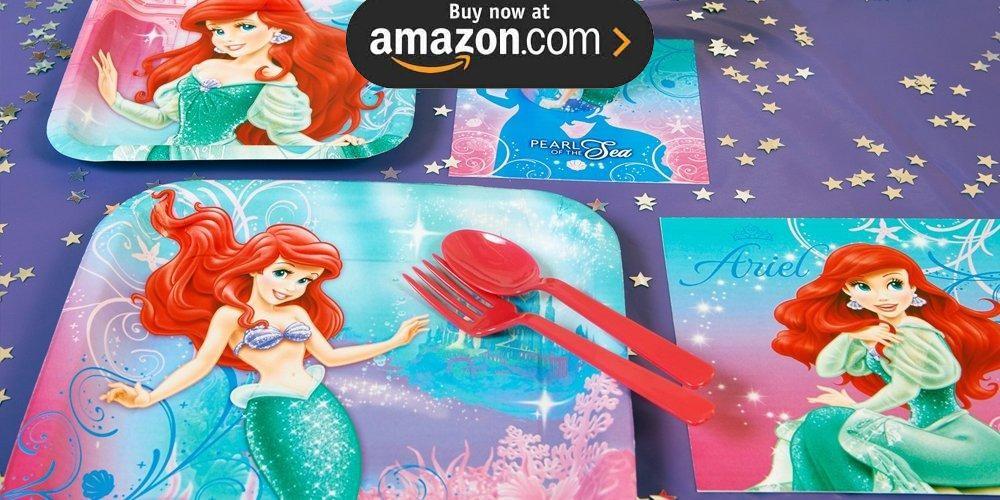 Disney The Little Mermaid Sparkle Party Supplies