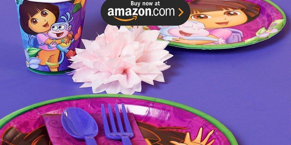 Doras Flower Adventure Party Supplies