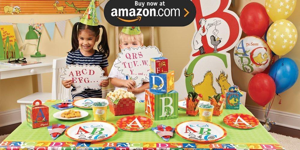 Dr Seuss ABC Party Supplies