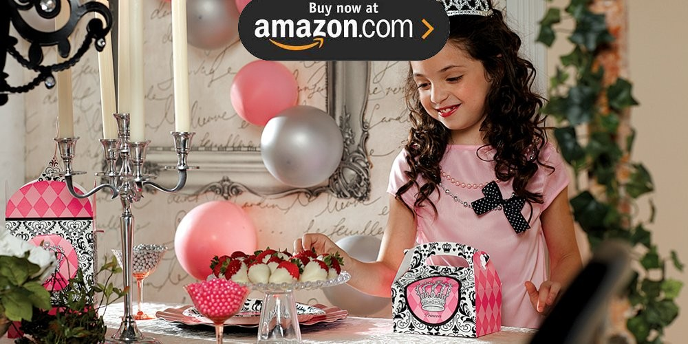 Elegant Princess Damask Party Supplies