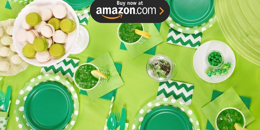 Emerald Green Party Supplies