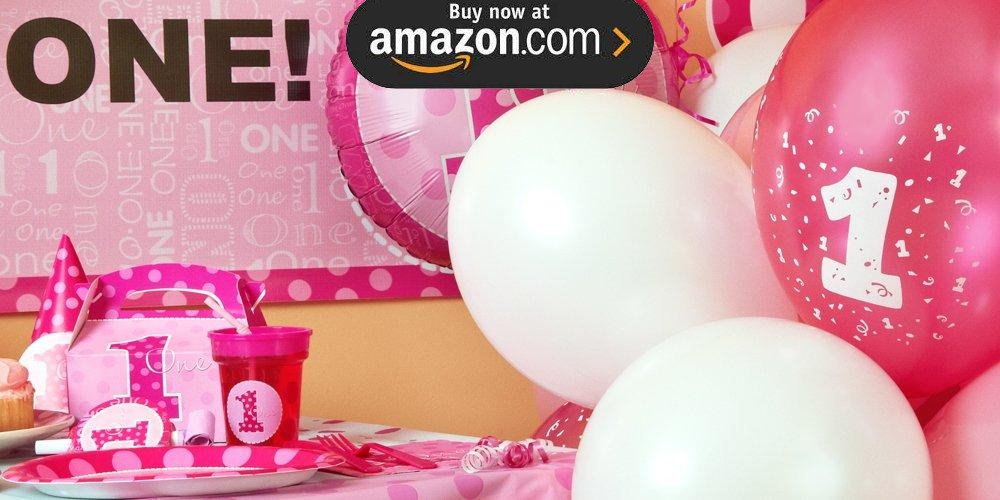 Everything One Girl Party Supplies
