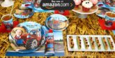 Farm Tractor Personalized Party Supplies