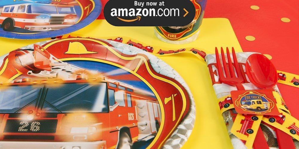 Fire Trucks Party Supplies