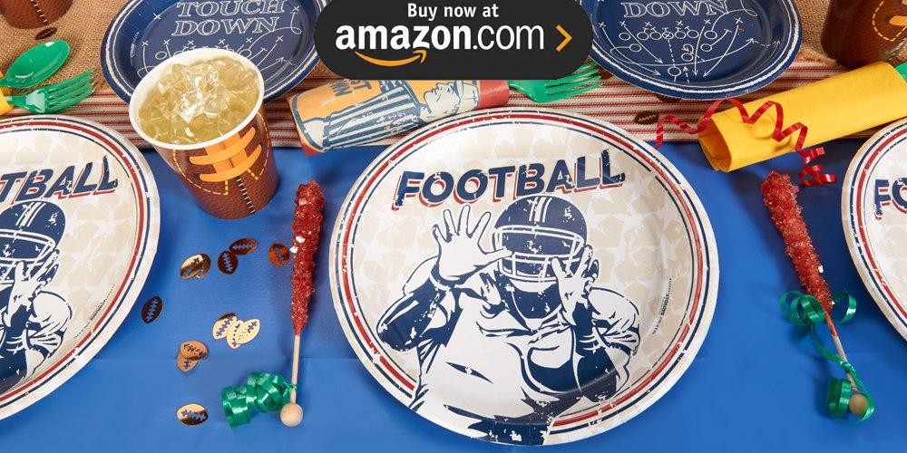 Football Game Time Party Supplies