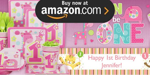 Fun to Be One Girl Party Supplies