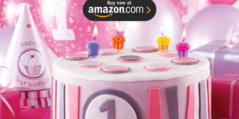 Girls Lil Cupcake 1st Birthday Party Supplies