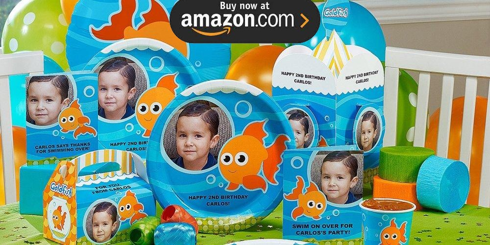 Goldfish Personalized Party Supplies