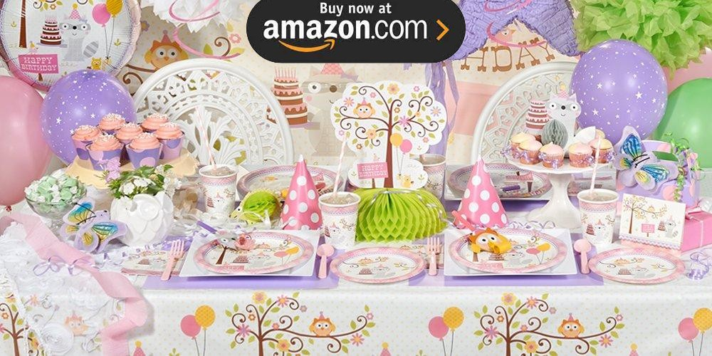 Happi Woodland Girl Party Supplies