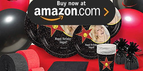 Hollywood Walk of Fame Party Supplies
