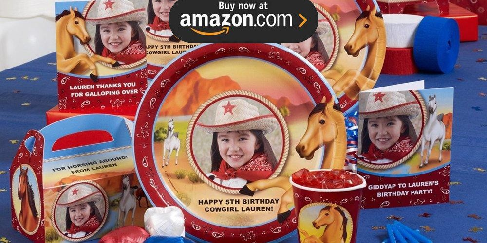 Horse Power Personalized Party Supplies