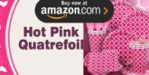 Hot Pink Quatrefoil Party Supplies