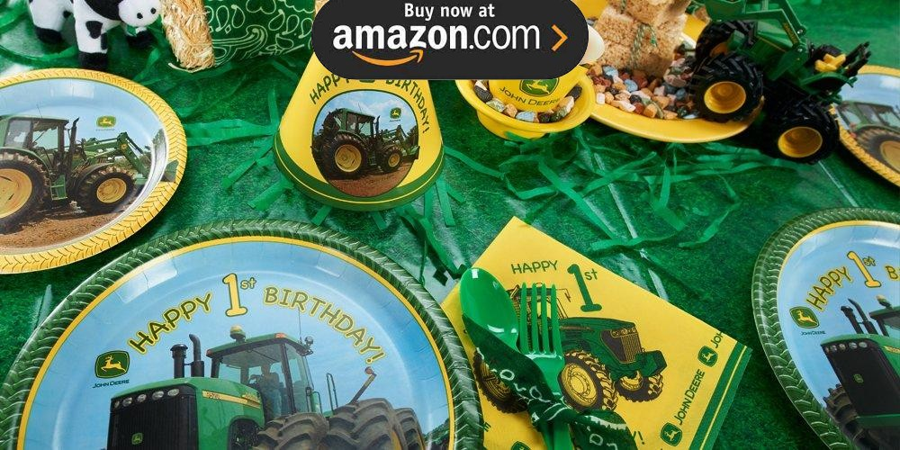 John Deere 1st Birthday Party Supplies