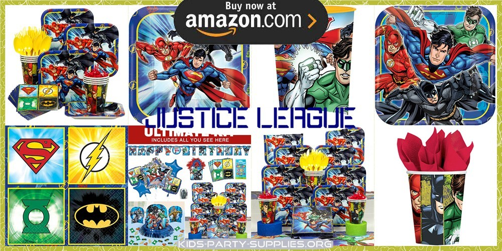 Justice League Party Supplies
