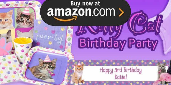 Kitty Cat Party Supplies