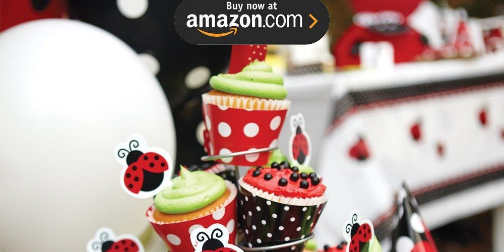 LadyBug Fancy 1st Birthday Party Supplies
