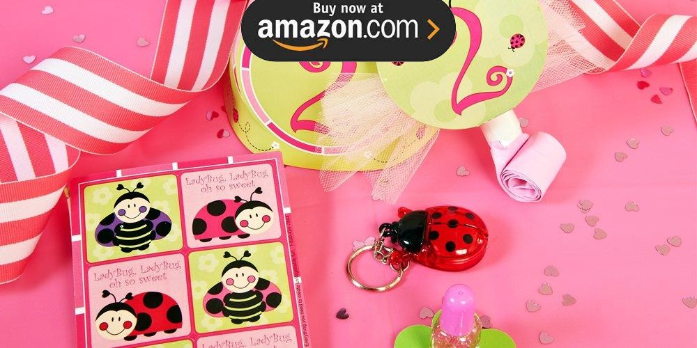 Ladybug Oh So Sweet 2nd Birthday Party Supplies