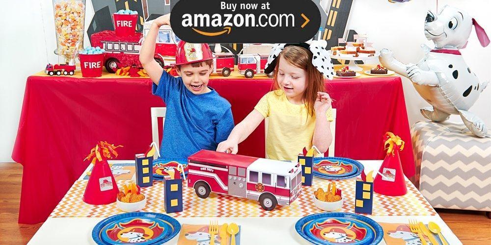 Little Fireman Party Supplies