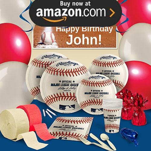 MLB Baseball Party Supplies