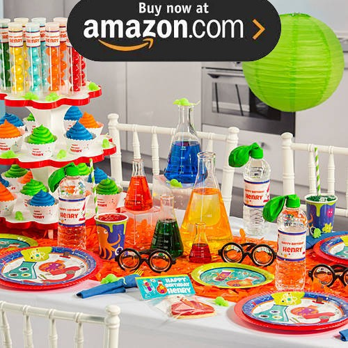 Mad Scientists Party Supplies