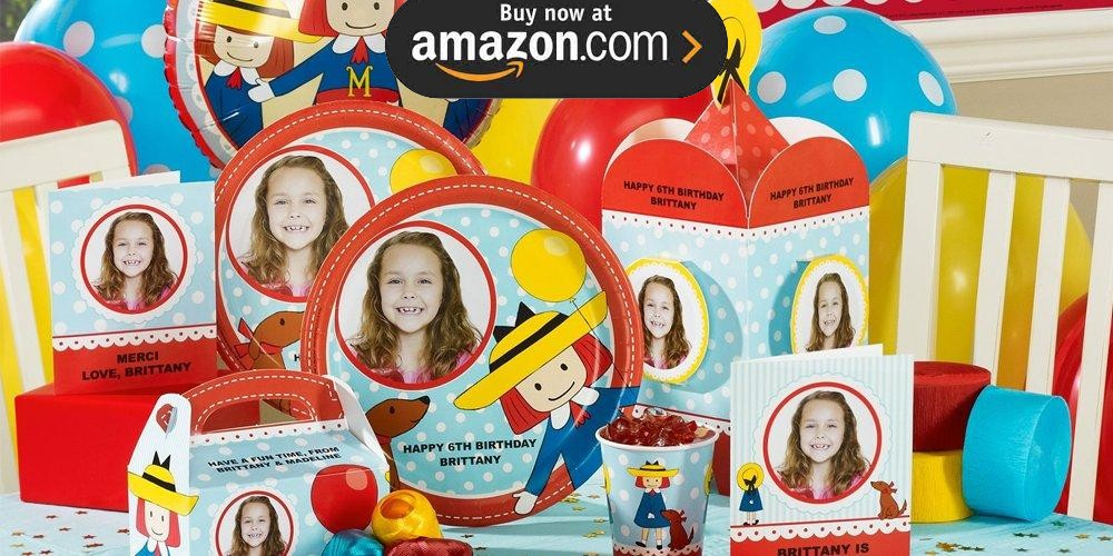 Madeline Personalized Party Supplies