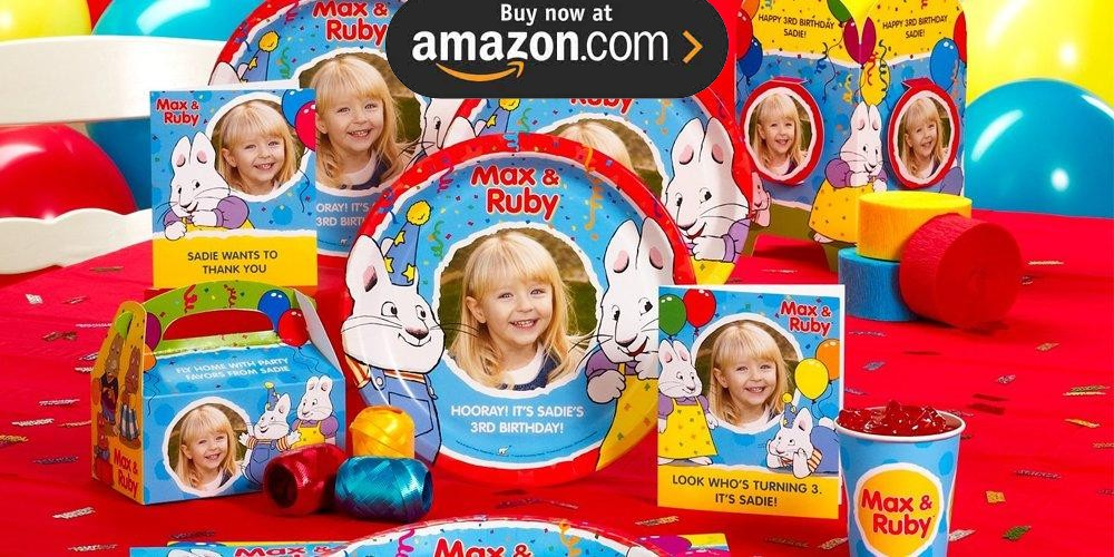 Max and Ruby Personalized Party Supplies