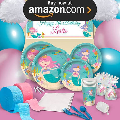 Mermaid Princess Party Supplies