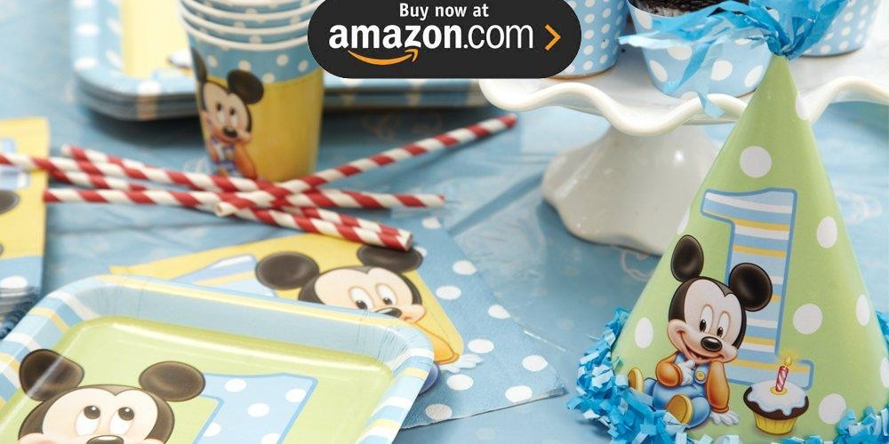 Mickey 1st Birthday Party Supplies