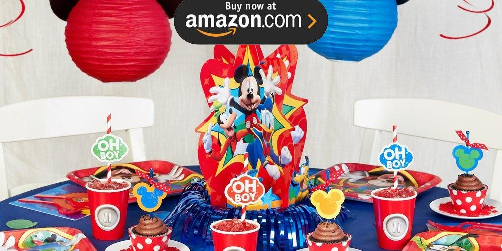 Mickey Mouse Playtime Party Supplies